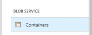 Azure Functions Coding Blob Container
