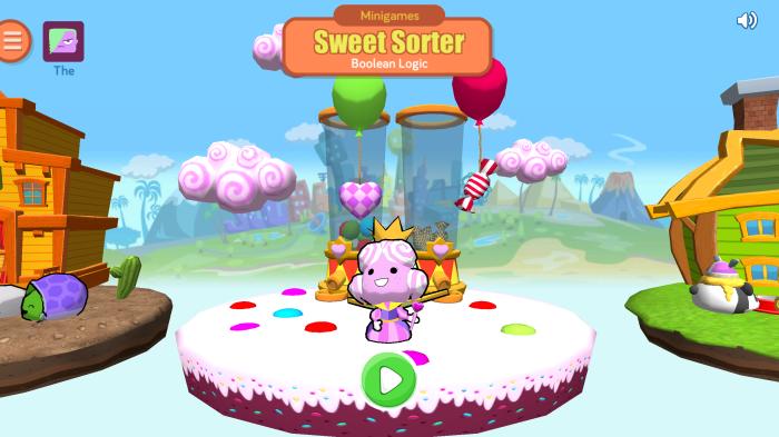 Sweet Sorter Boolean Logic