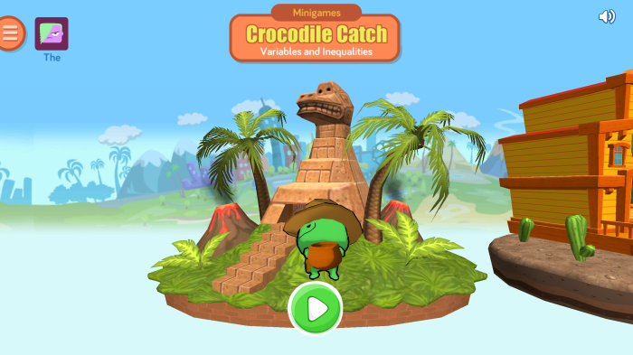 variables inequality crocodile catch