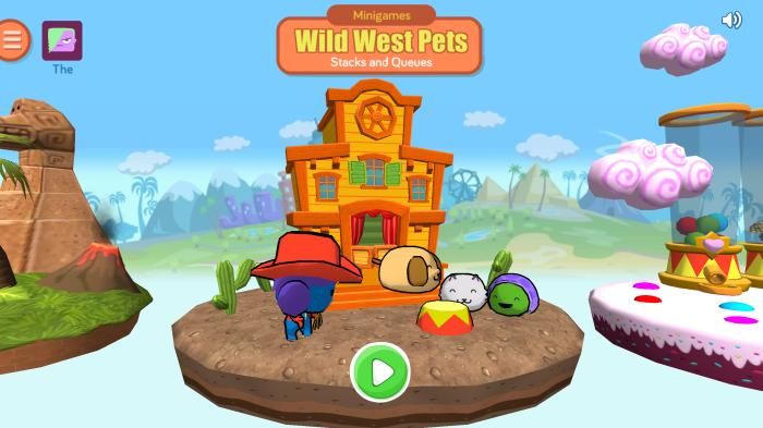 Wild West Pets Stacks Queues
