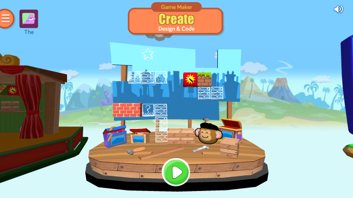 Create Games And Code